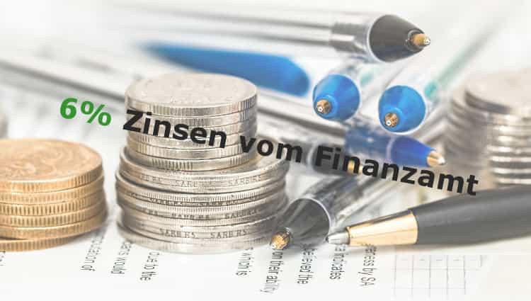 Zinsen vom Finanzamt